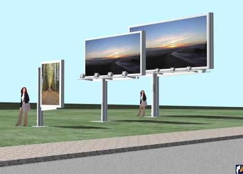 Городские рекламные конструкции изготавливать должны профессионалы